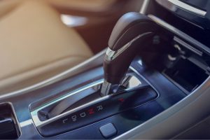 Automatic gear lever